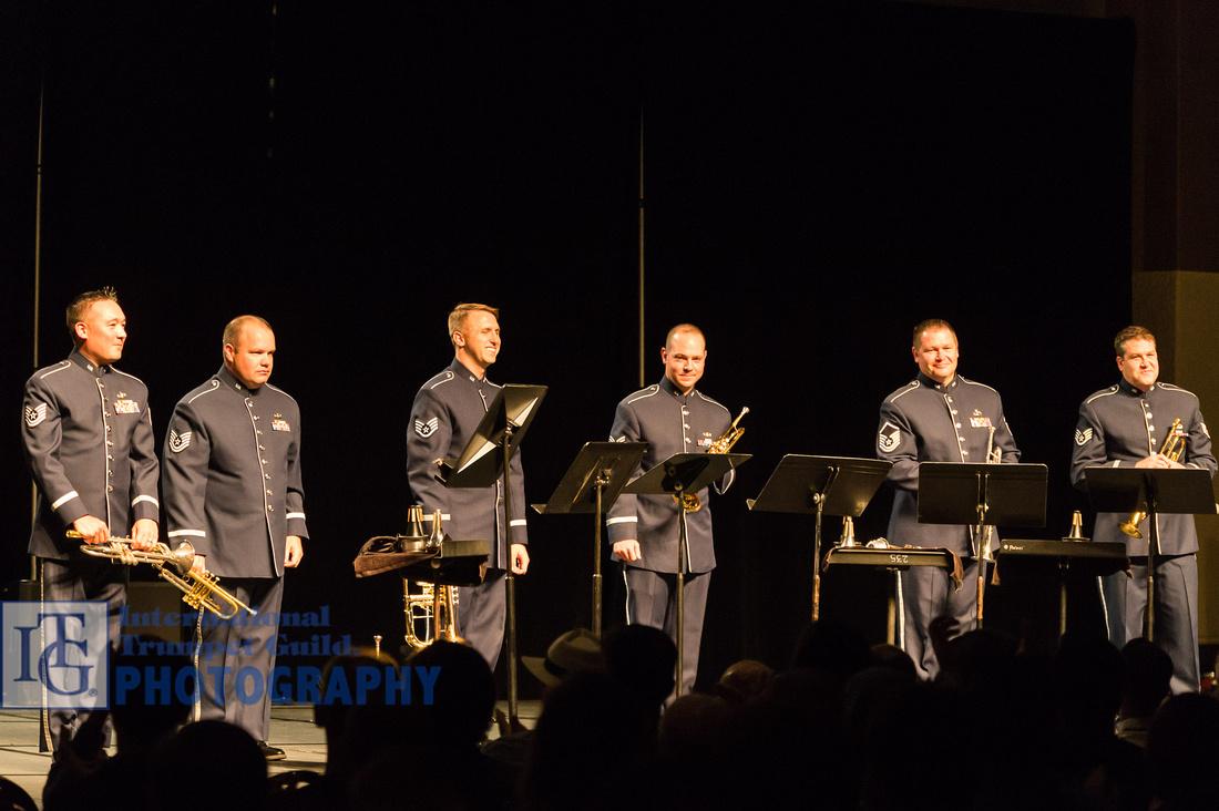 US Air Force Academy Trumpet Ensemble