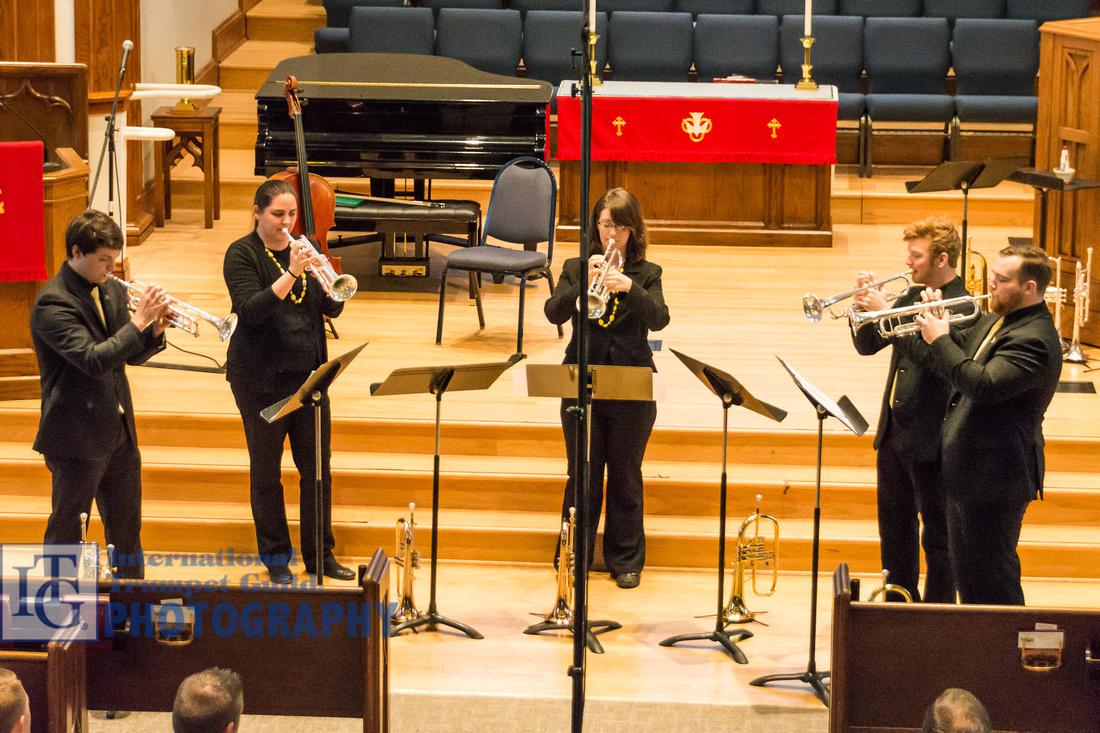 Appalachian State University Trumpet Ensemble