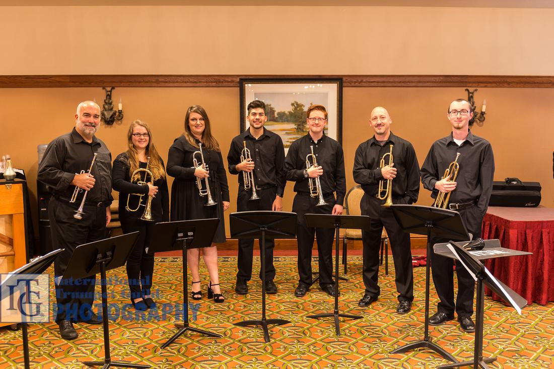 UNC at Pembroke Trumpet Ensemble
