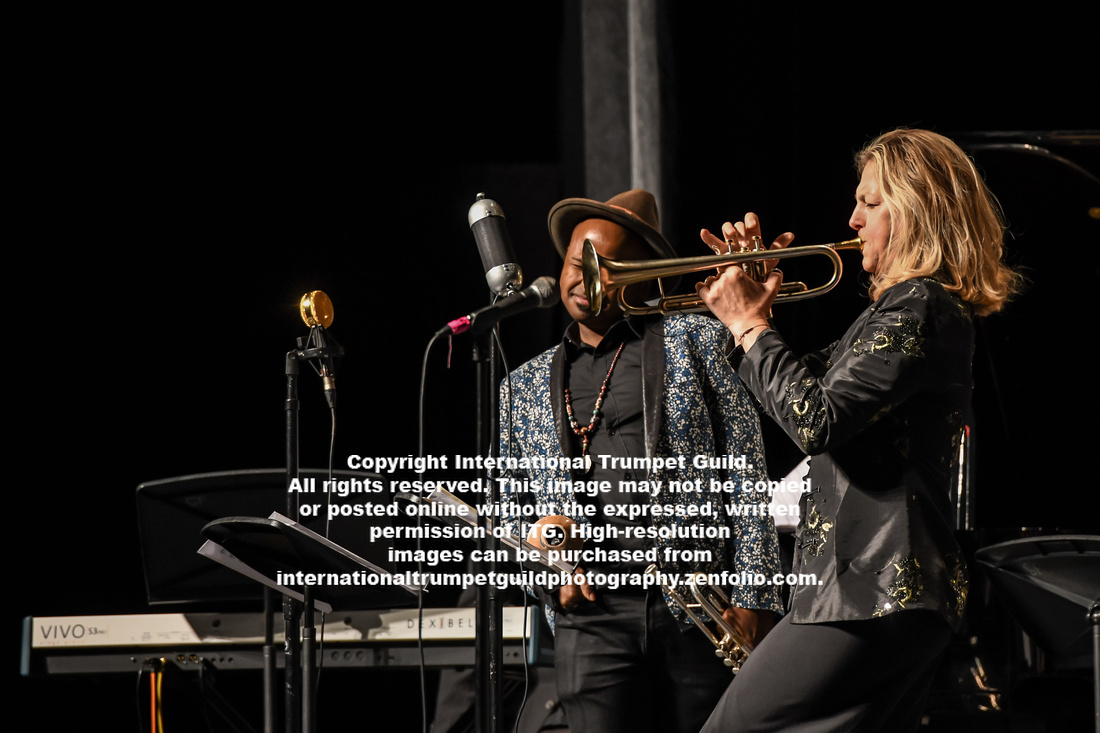 Ingrid Jensen, Alphone Horn and the Ryan Chapman Jazz Orchestra