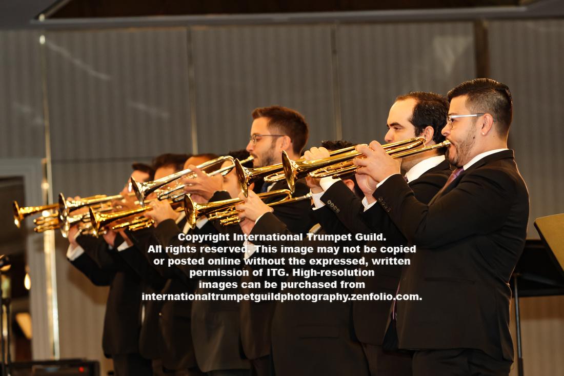 Simon Bolivar Trumpet Ensemble
