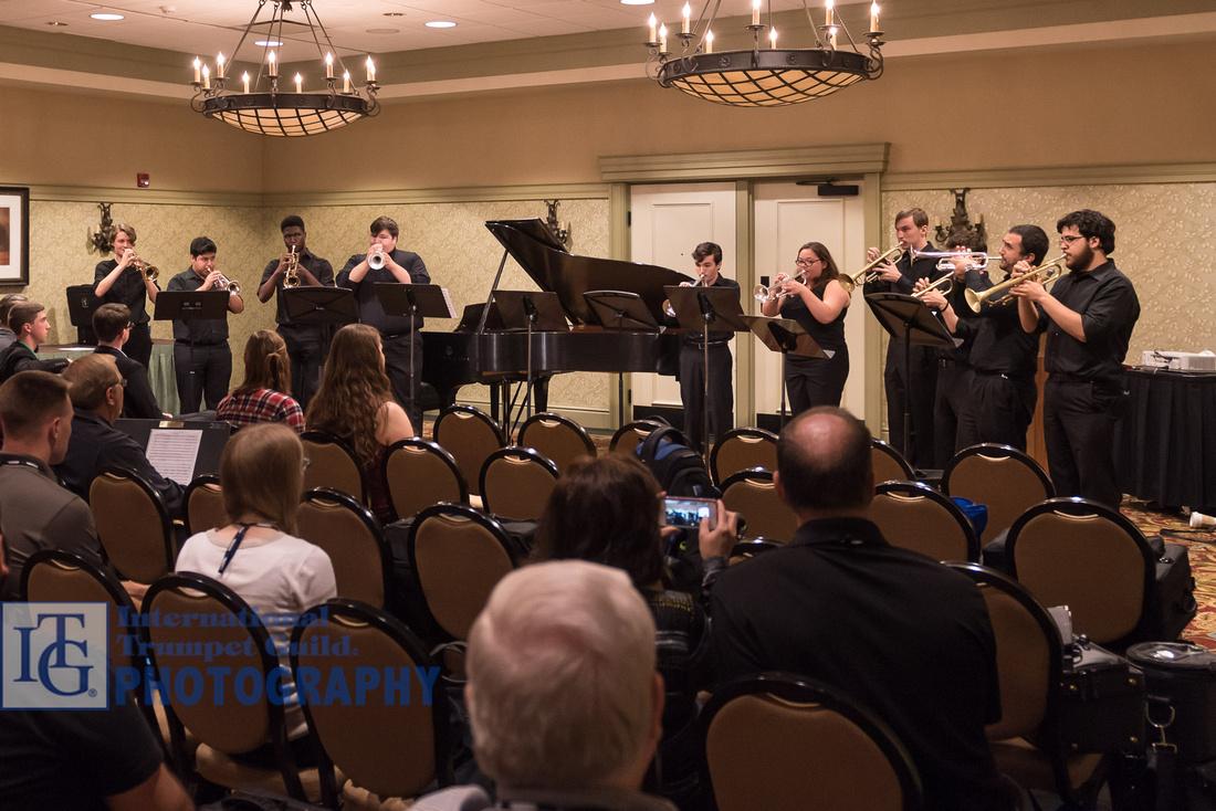 Shenandoah Conservatory Trumpet Ensemble