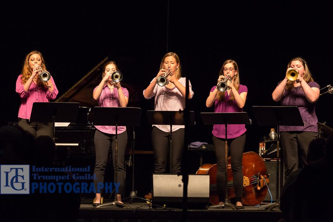 West Chester University Women's Trumpet Ensemble